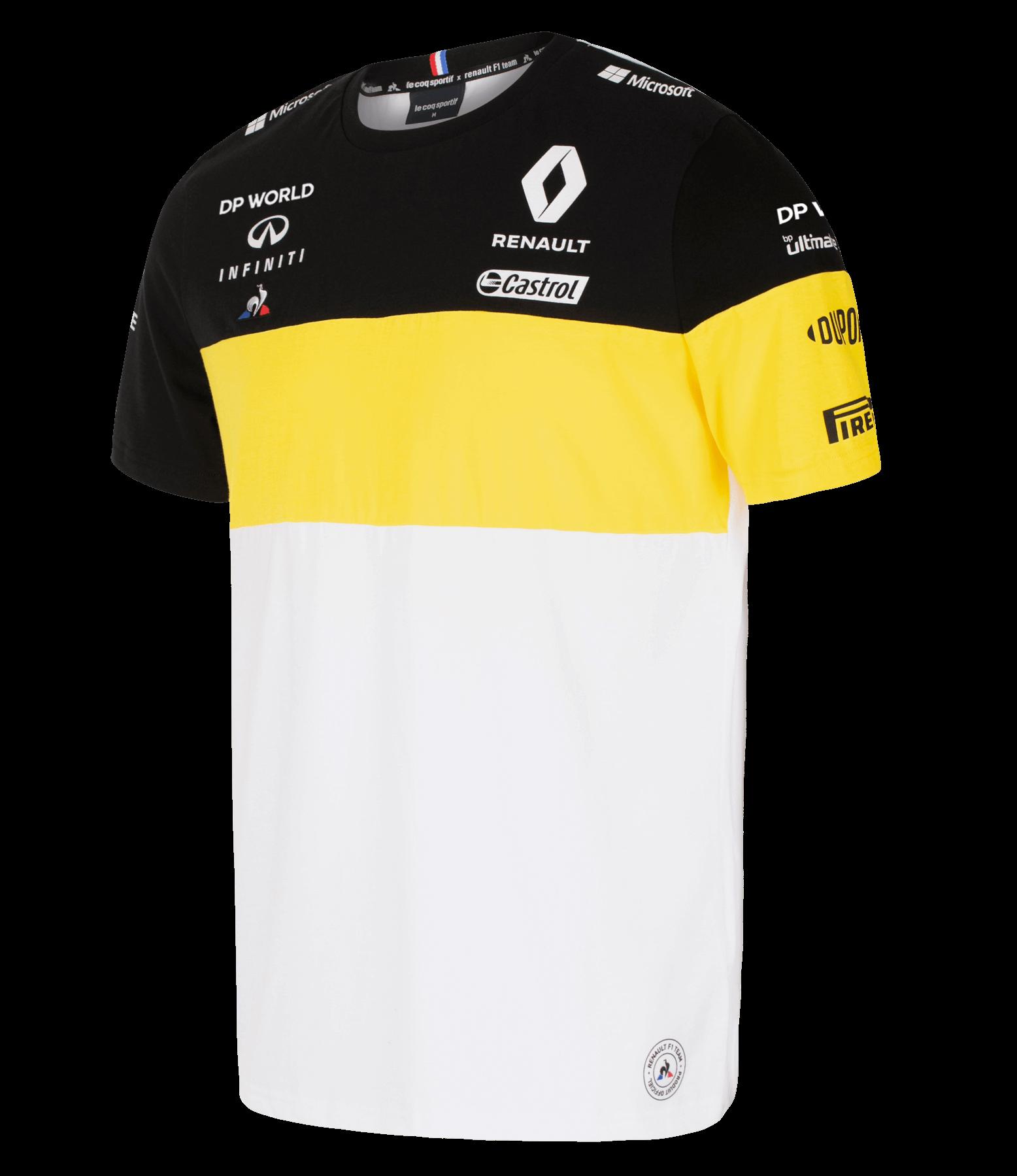 Renault Dp World F1 Team 2020 Men S T Shirt White Rs F1 Official Website