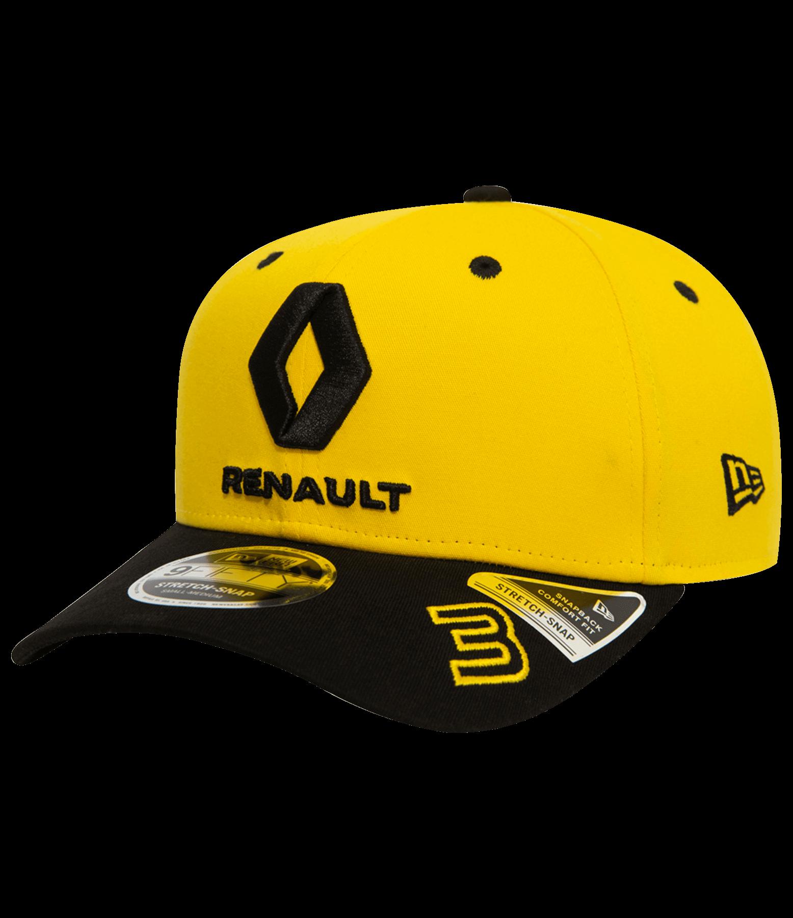 Daniel Ricciardo 2019 official cap - yellow