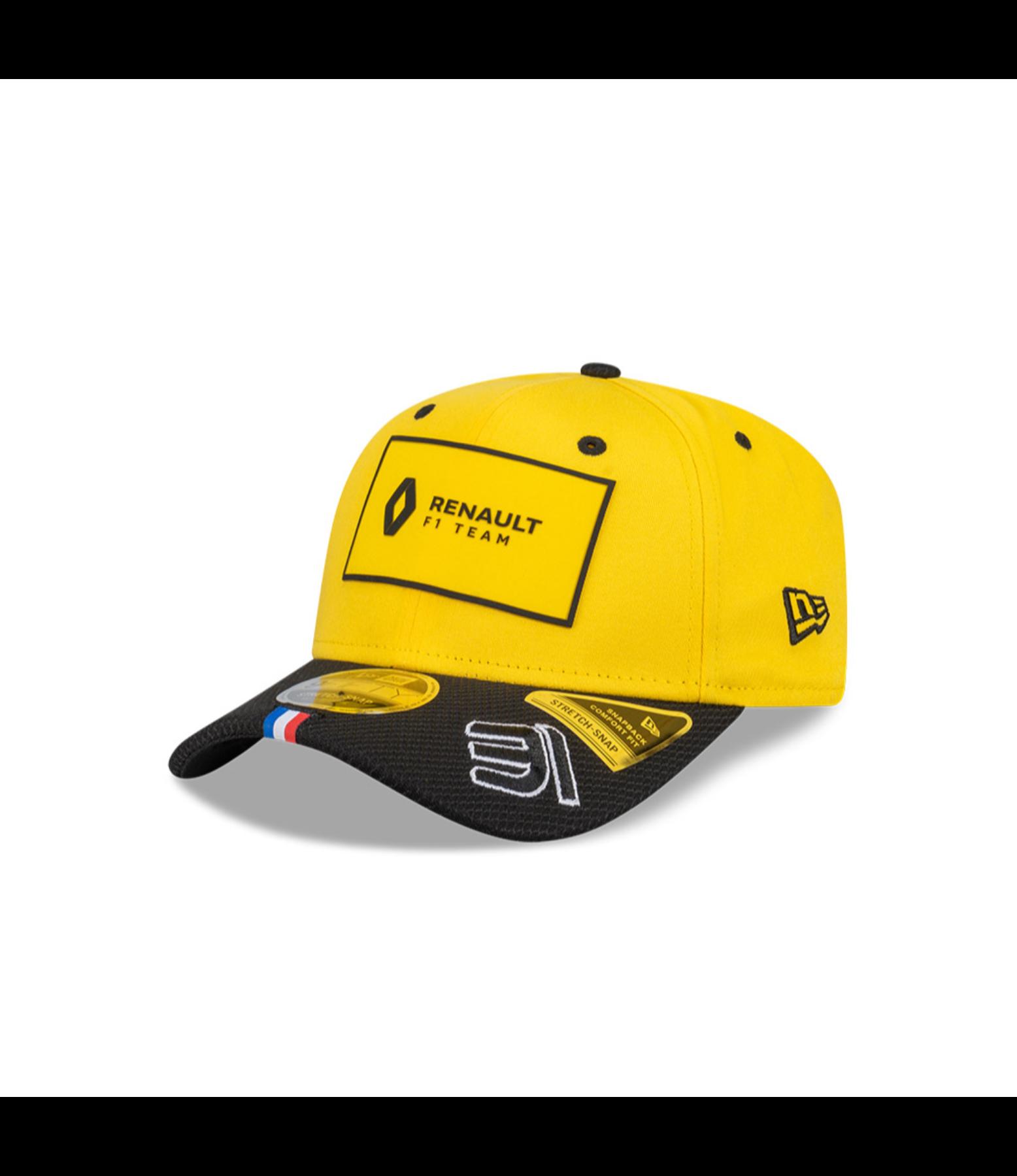 RENAULT DP WORLD F1 TEAM 2020 Ocon New Era Cap - yellow