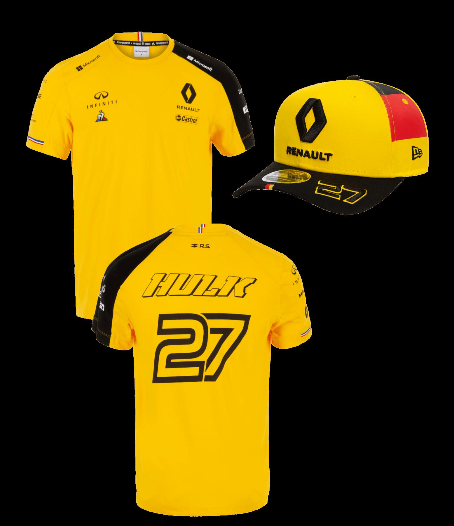 RENAULT F1® TEAM Nico HÜLKENBERG pack