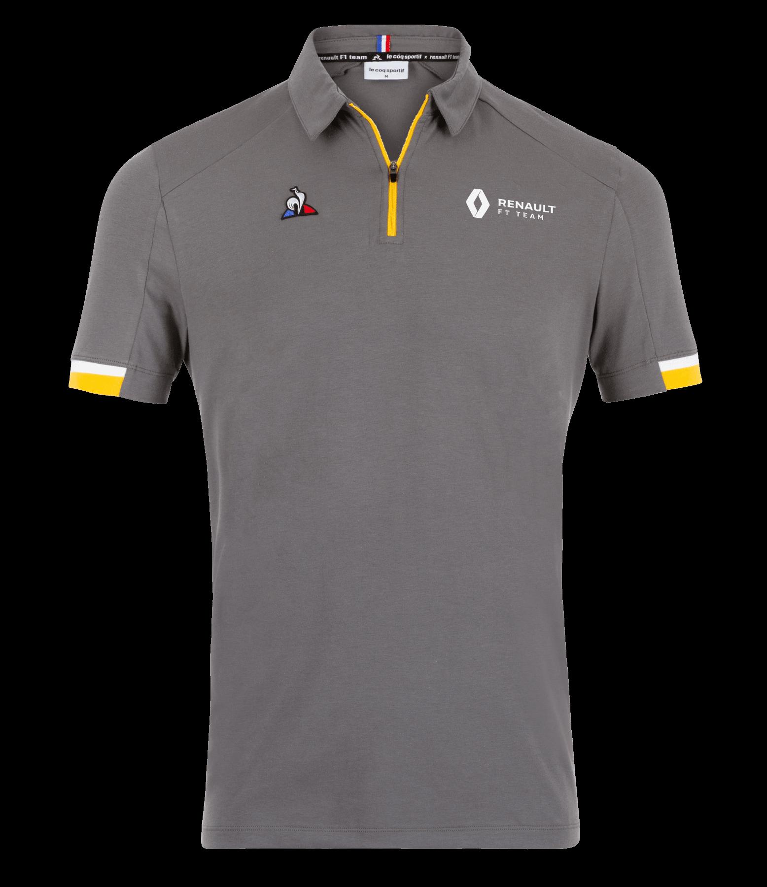 RENAULT F1® TEAM 2019 men's poloshirt - grey