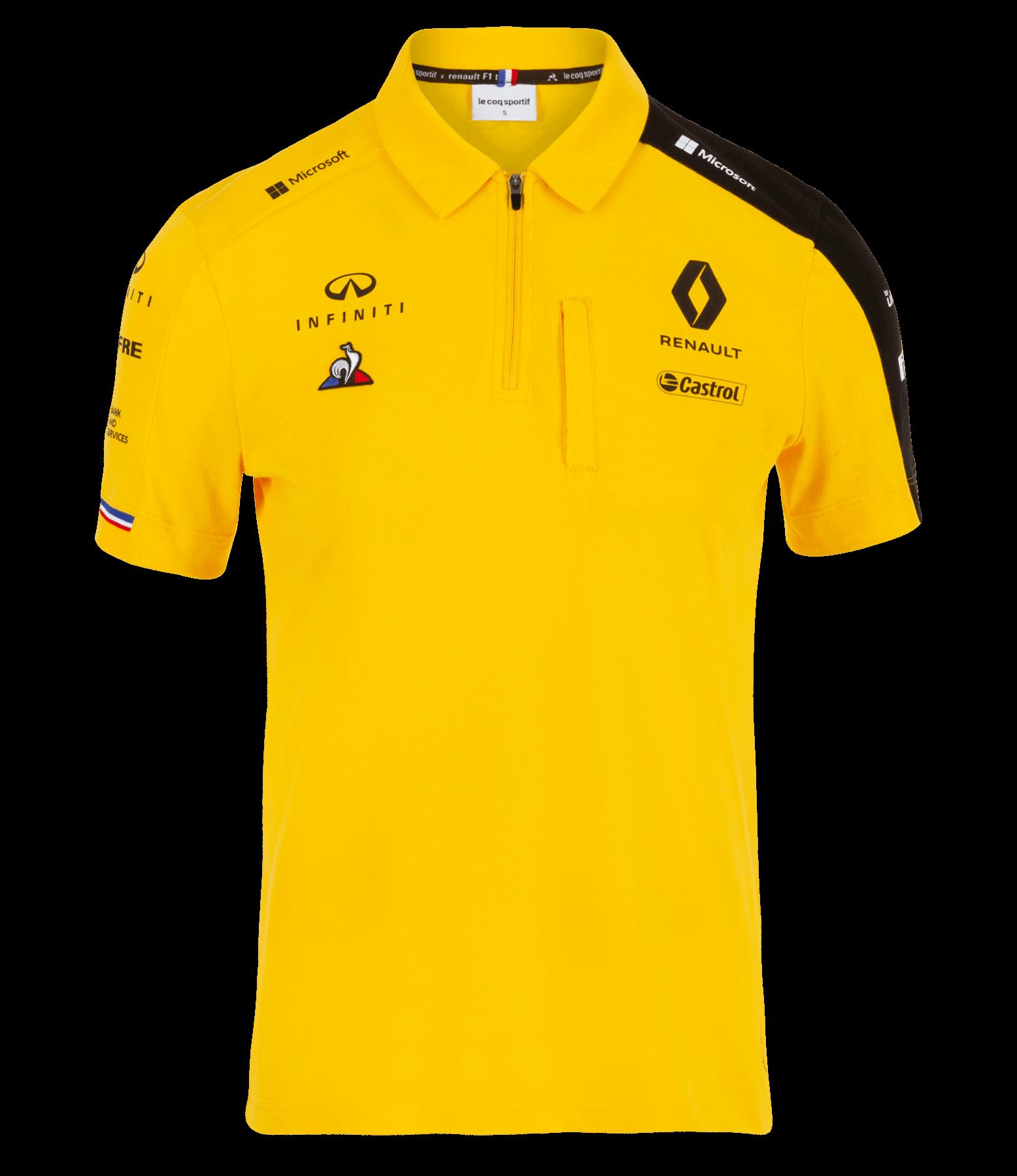 RENAULT F1® TEAM 2019 women's poloshirt - yellow