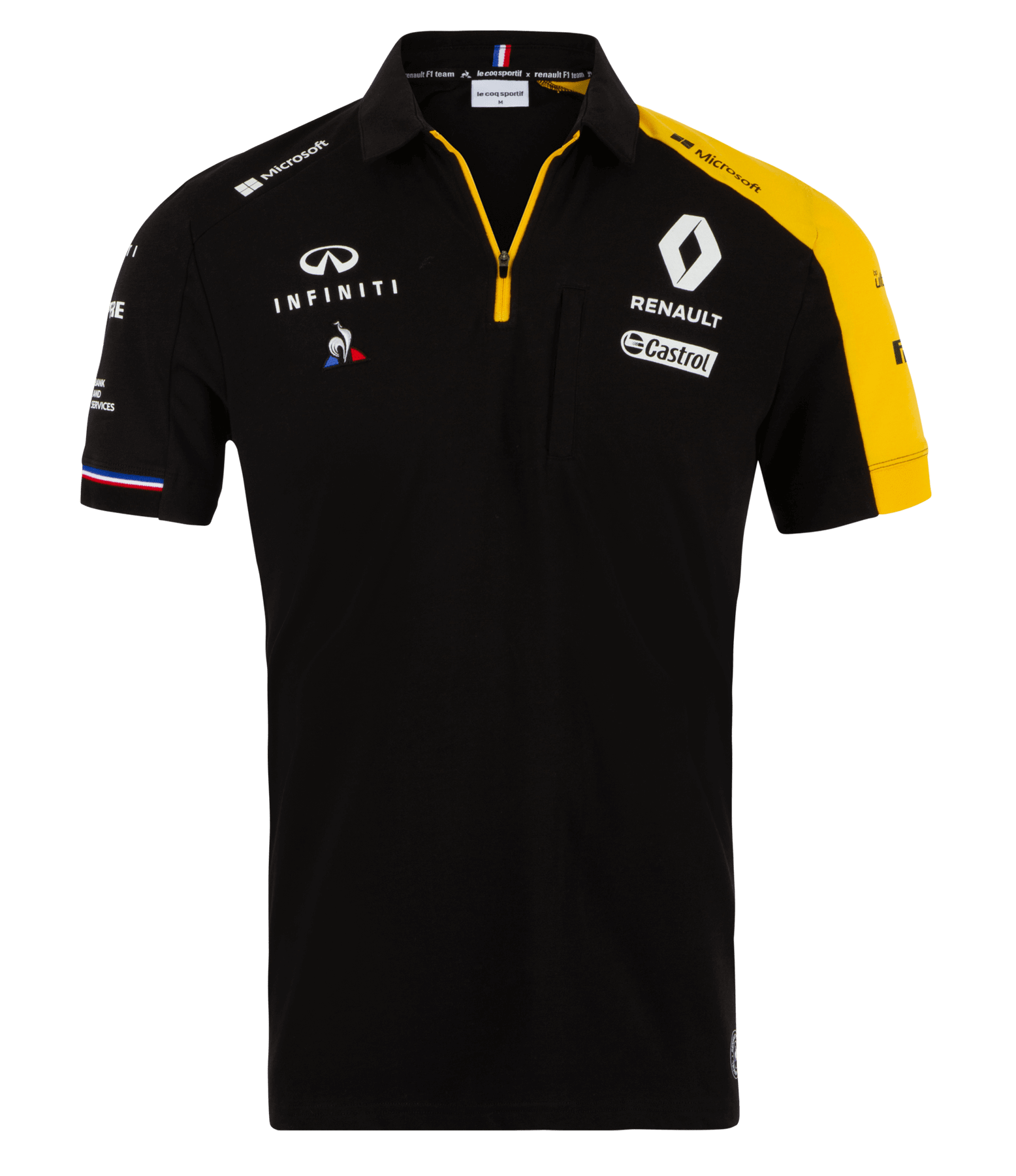 RENAULT F1® TEAM 2019 men's poloshirt - black