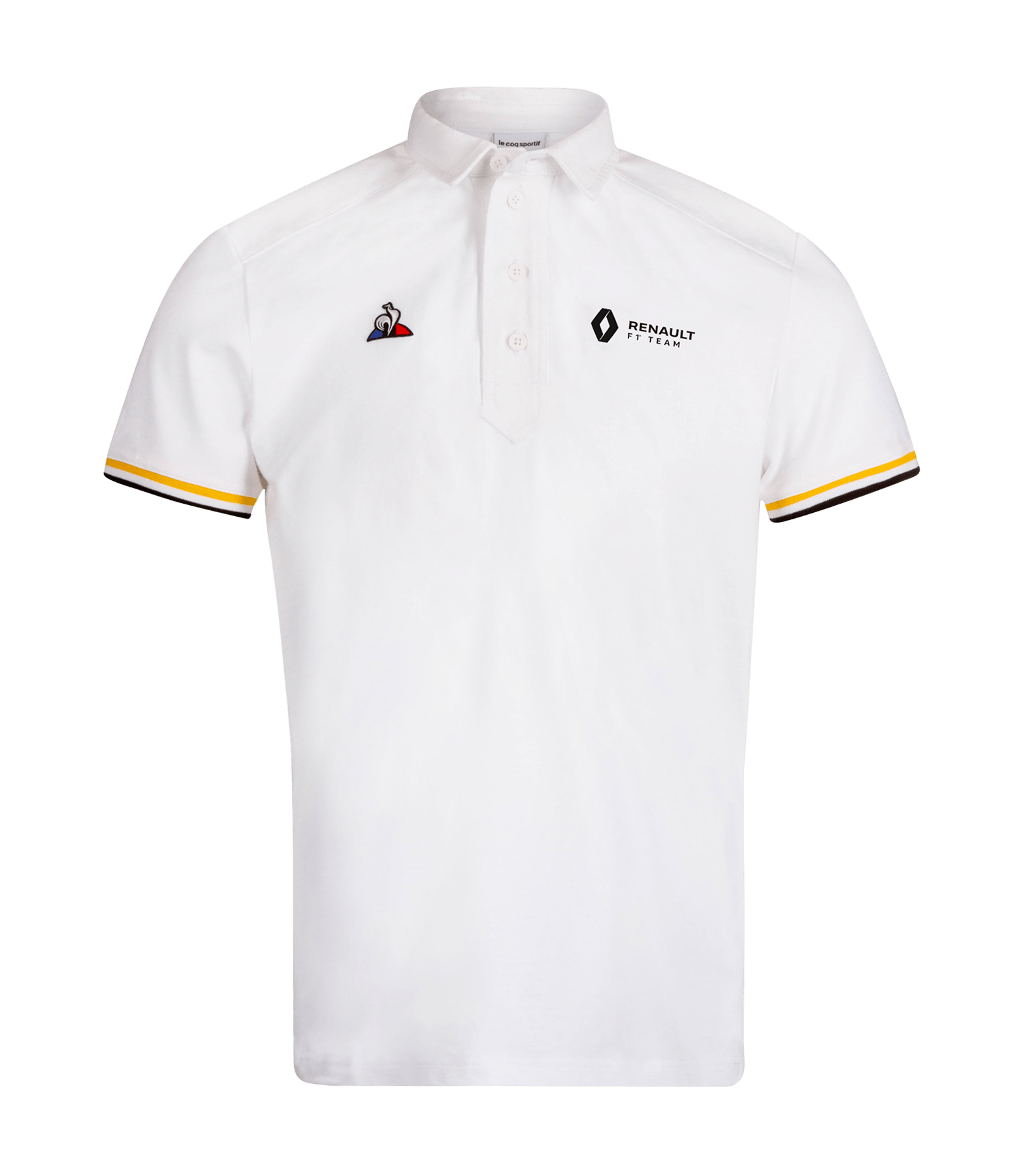 RENAULT F1® TEAM fan men's polo shirt - white