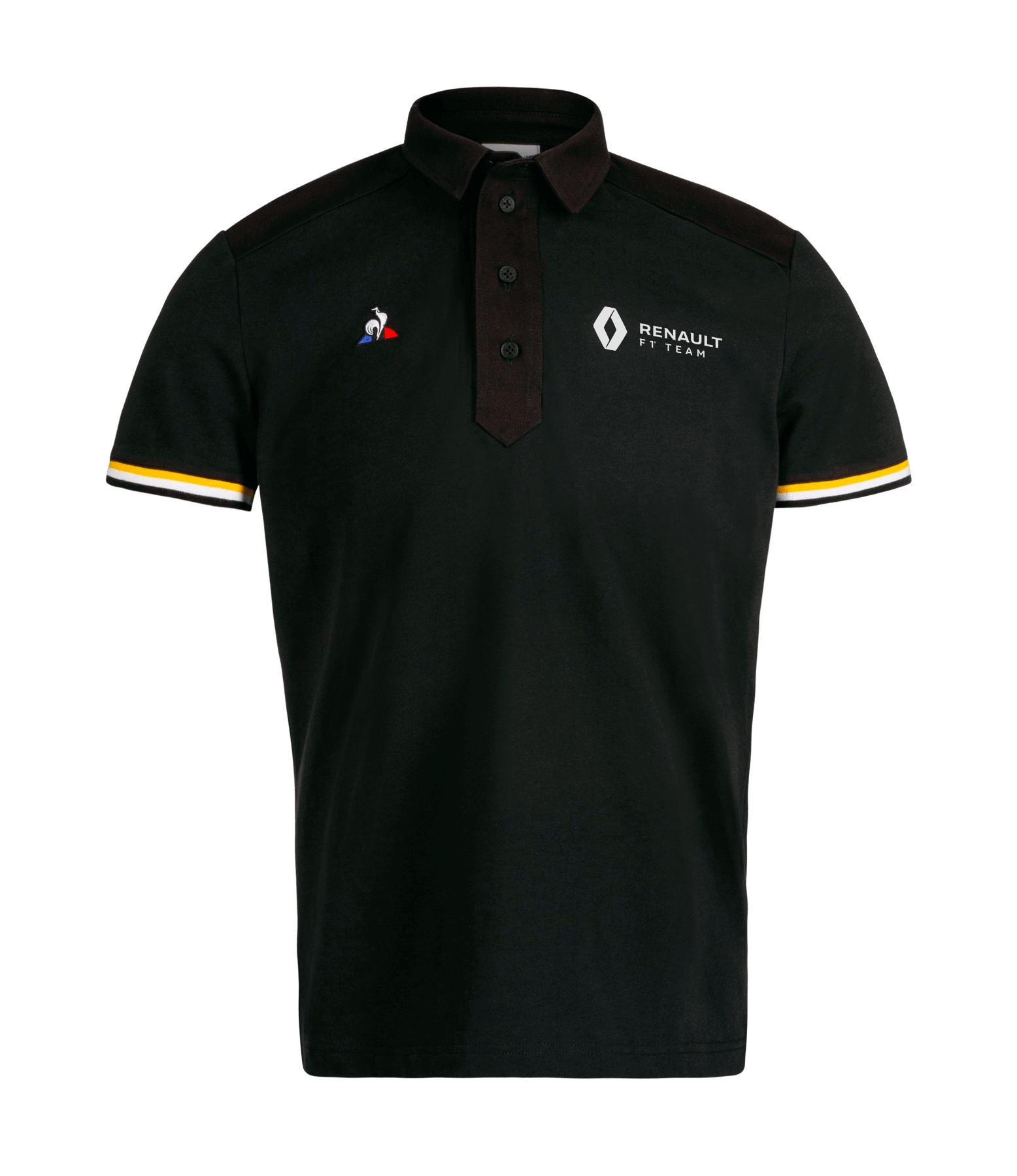 RENAULT F1® TEAM fan men's polo shirt - black