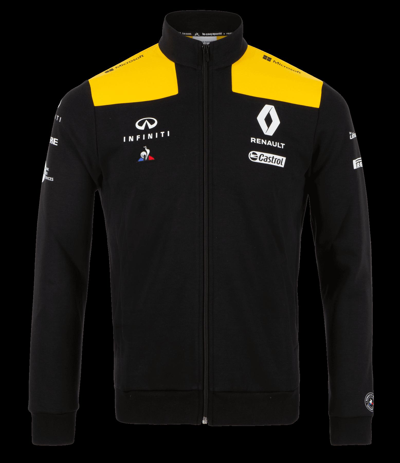 RENAULT F1® TEAM 2019 men's sweater - black size L