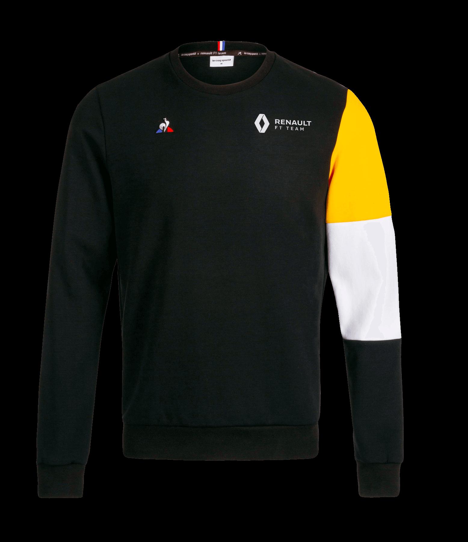 RENAULT F1® TEAM fan men's sweat - black