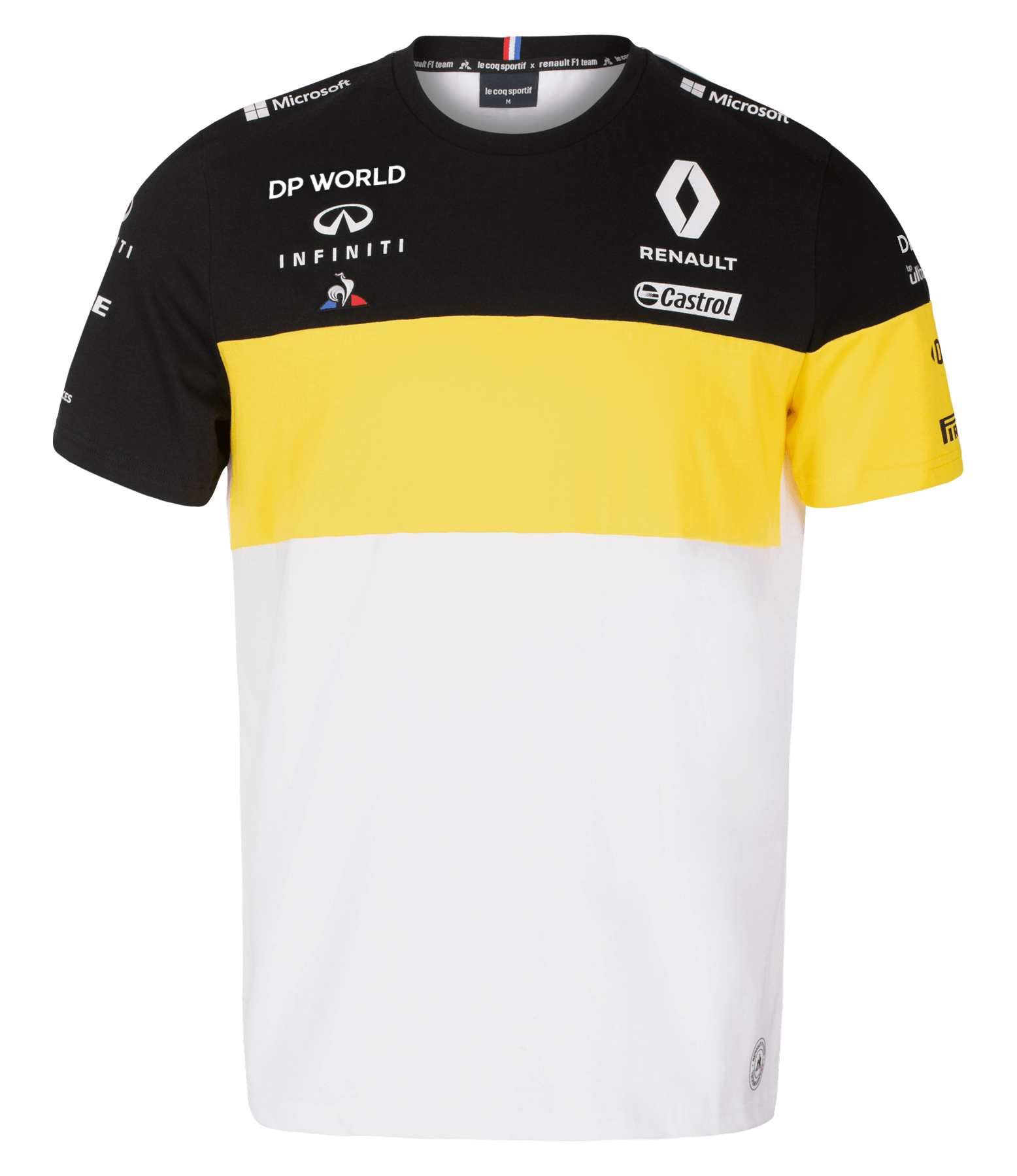 RENAULT DP WORLD F1® TEAM 2020 men's t-shirt - white