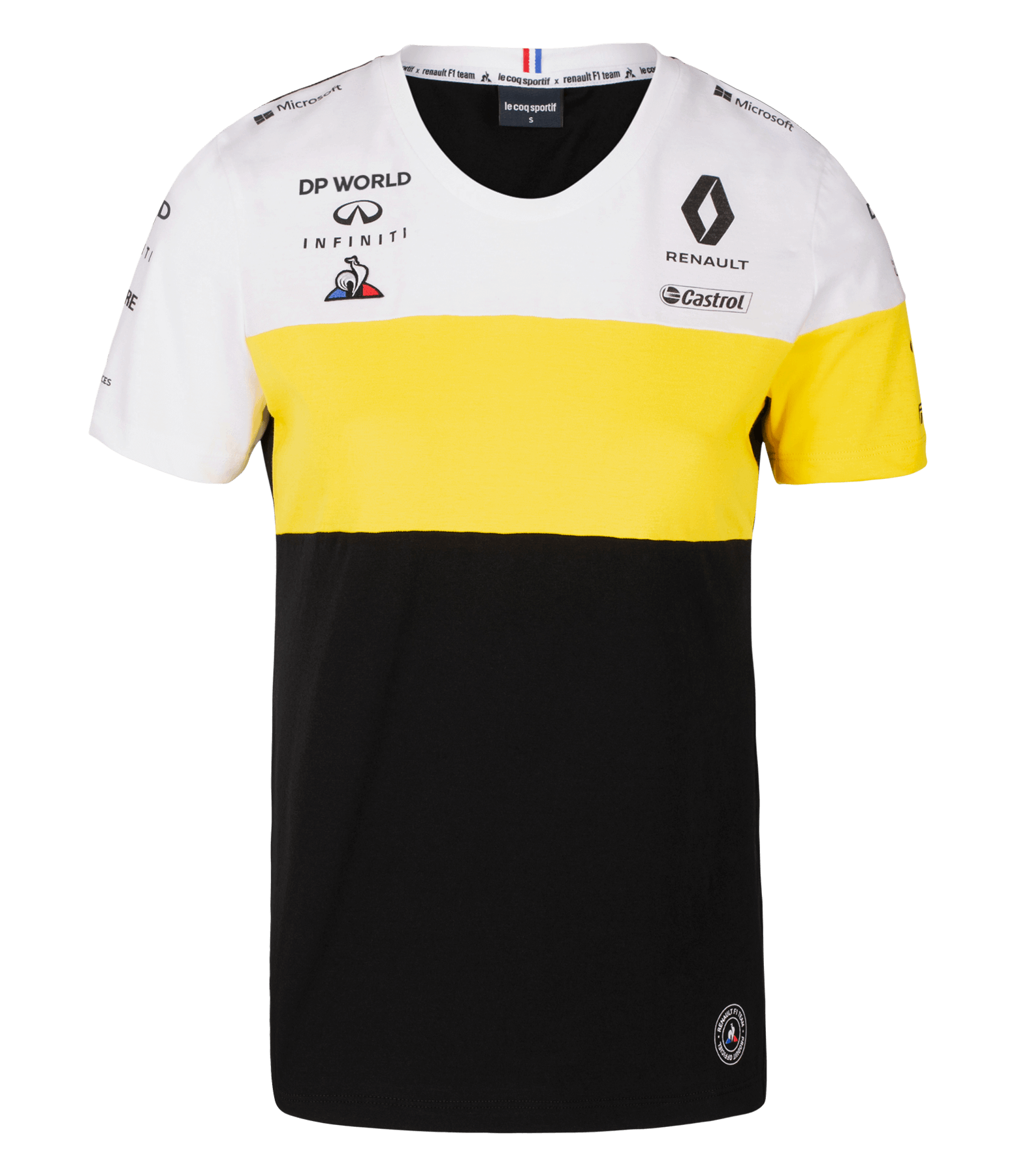 RENAULT DP WORLD F1® TEAM 2020 women's t-shirt - black