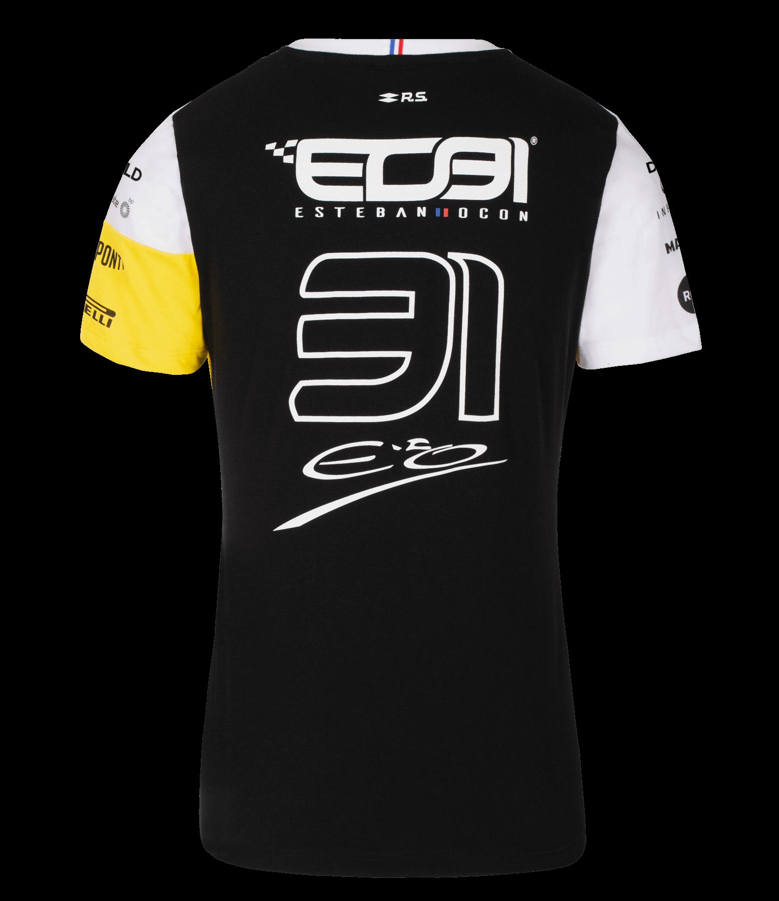 RENAULT DP WORLD F1® TEAM 2020 #31 Ocon women's t-shirt