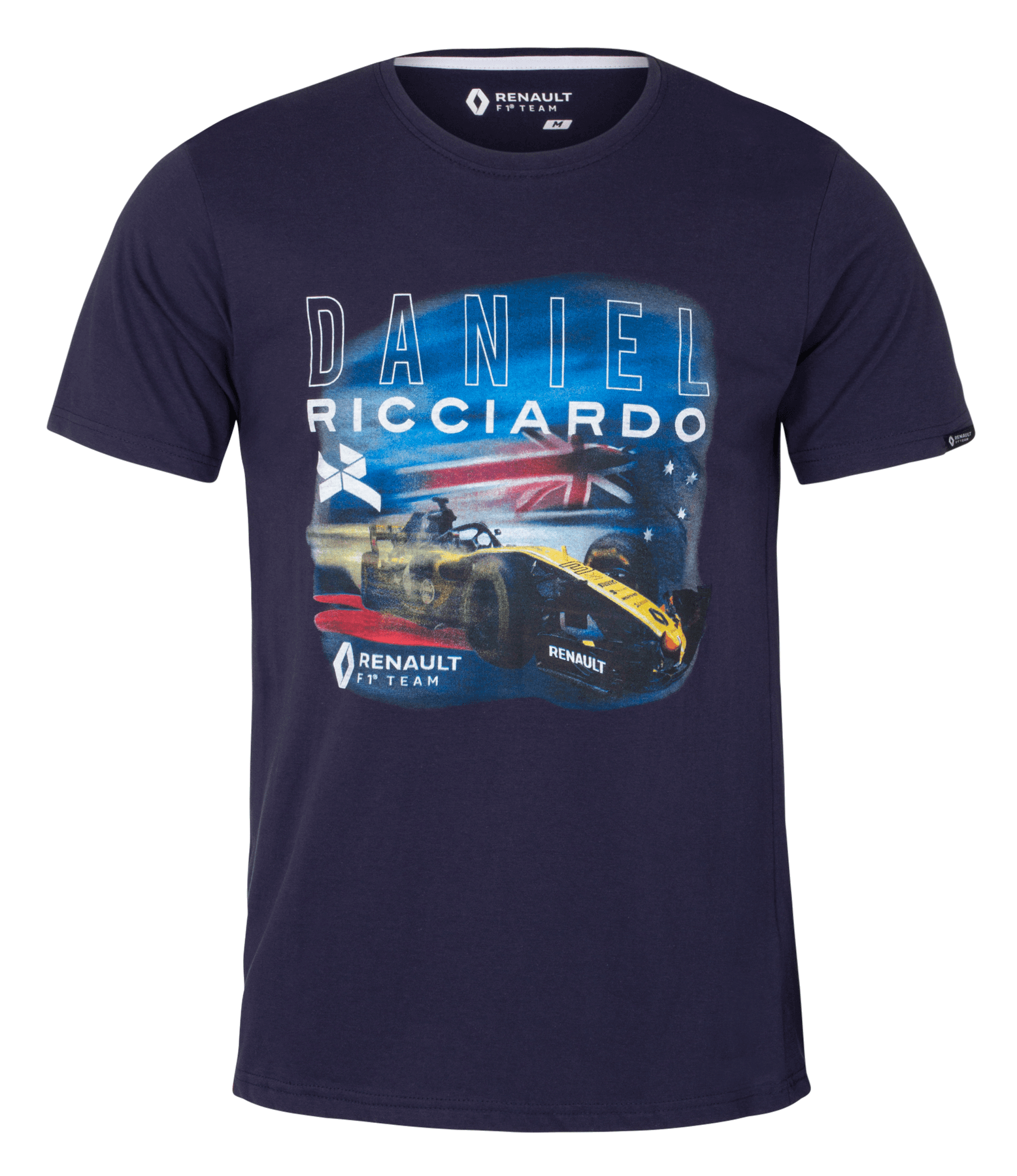 RENAULT F1® TEAM 2019 Daniel Ricciardo Men's T-shirt - Blue