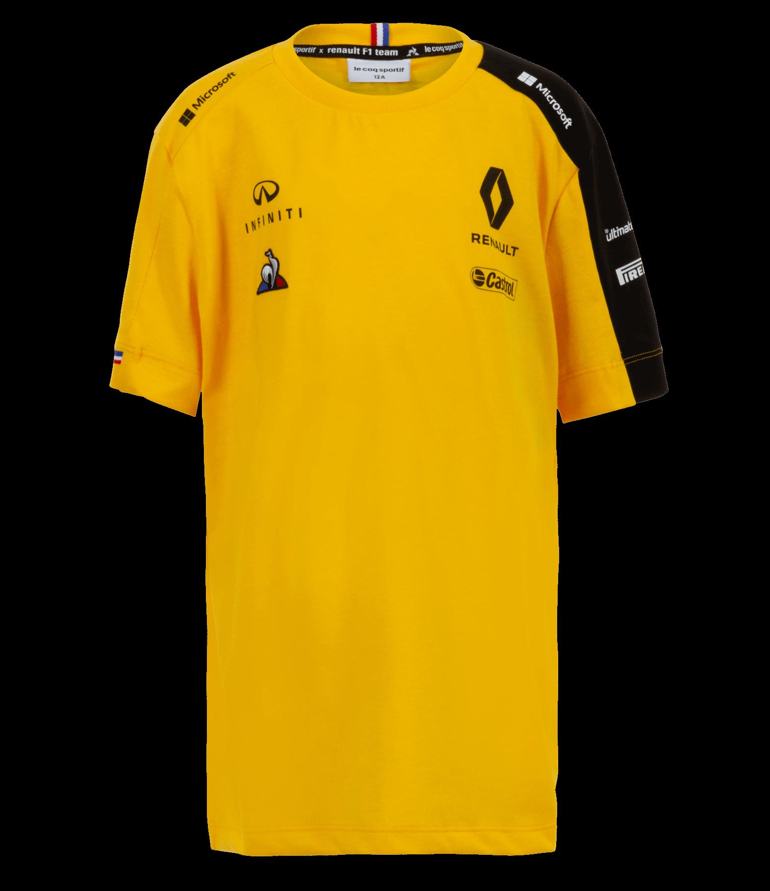 RENAULT F1® TEAM 2019 kid's t-shirt - yellow