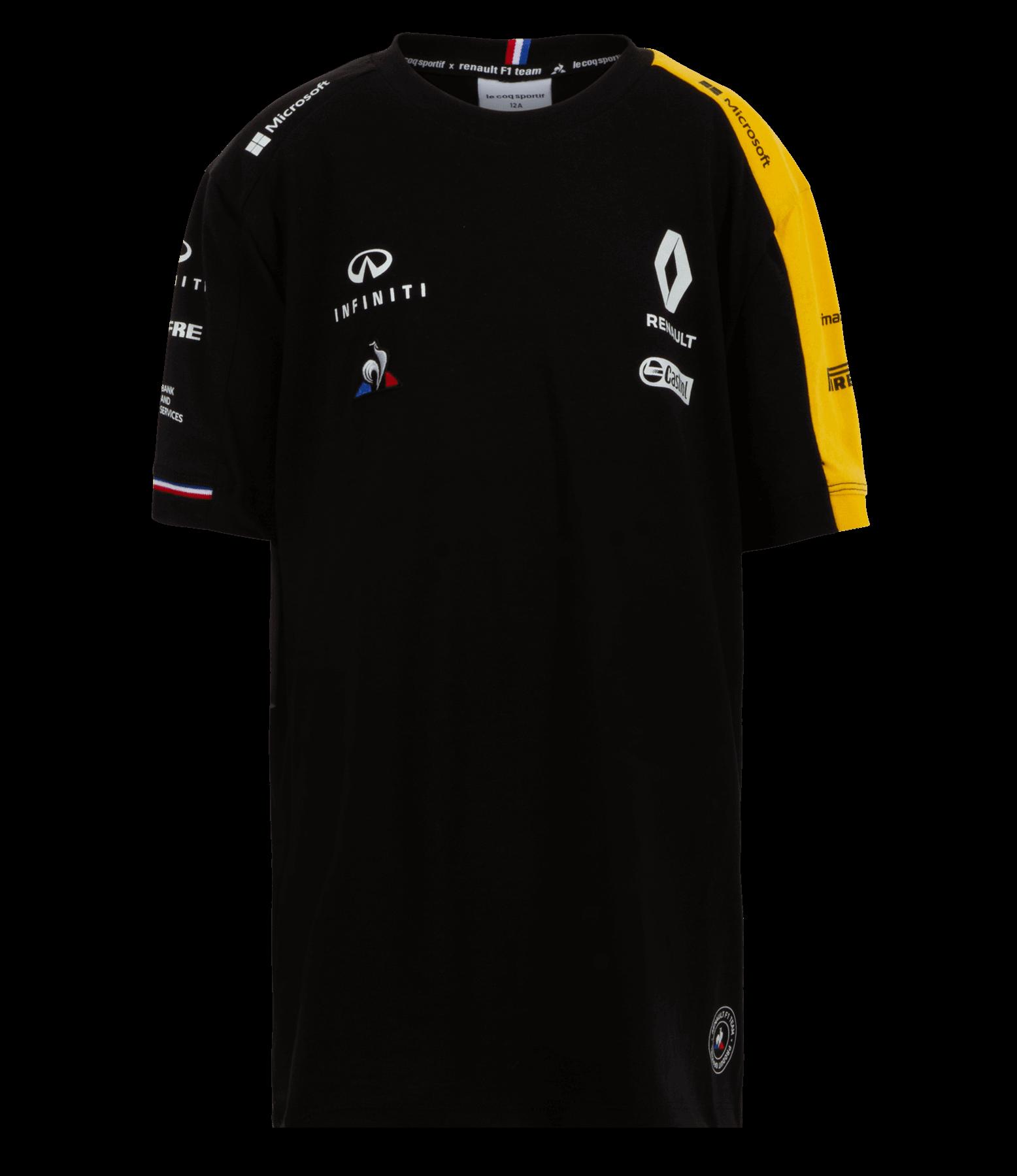 RENAULT F1® TEAM 2019 kid's t-shirt - black