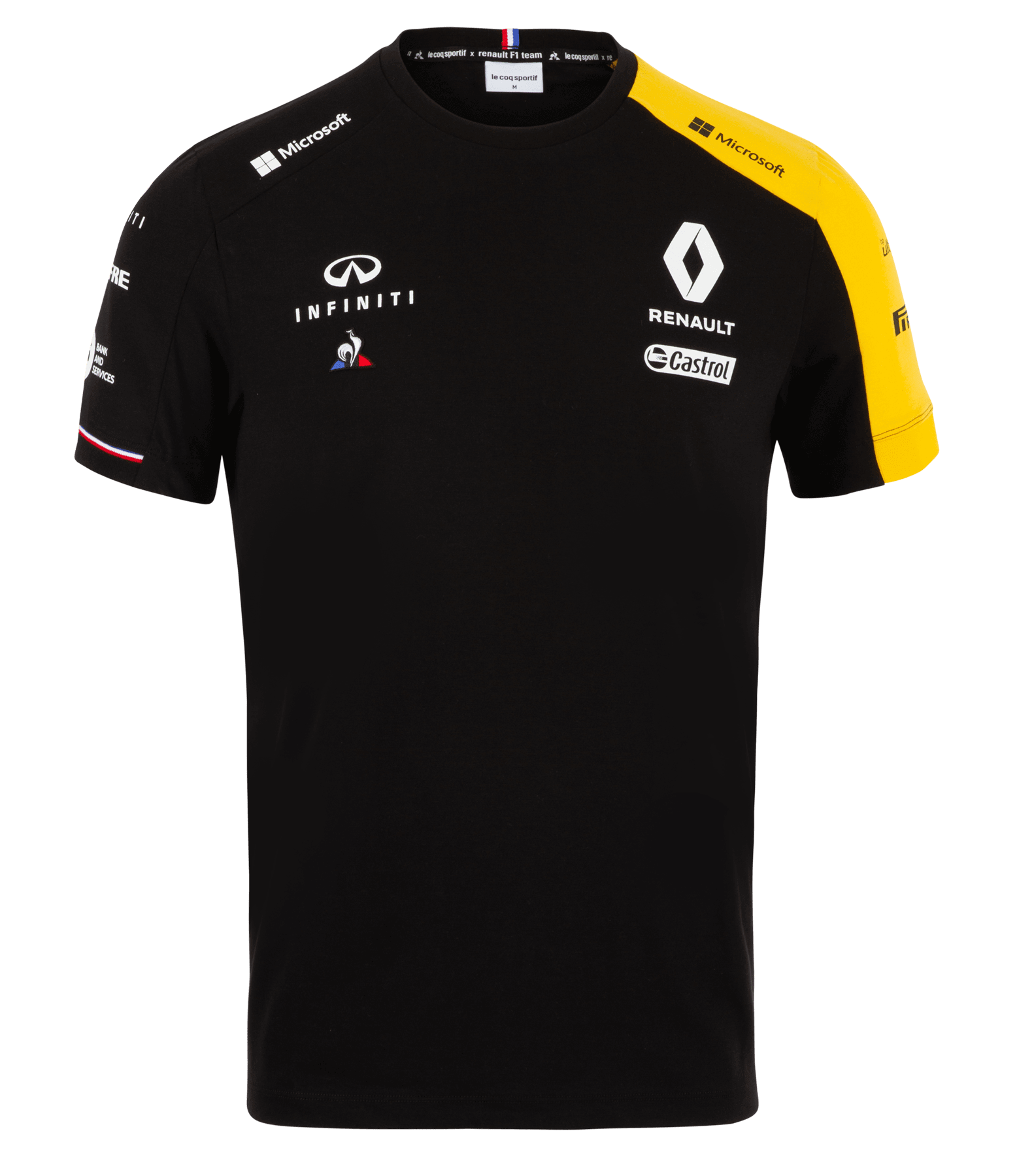 RENAULT F1® TEAM 2019 men's t-shirt - black