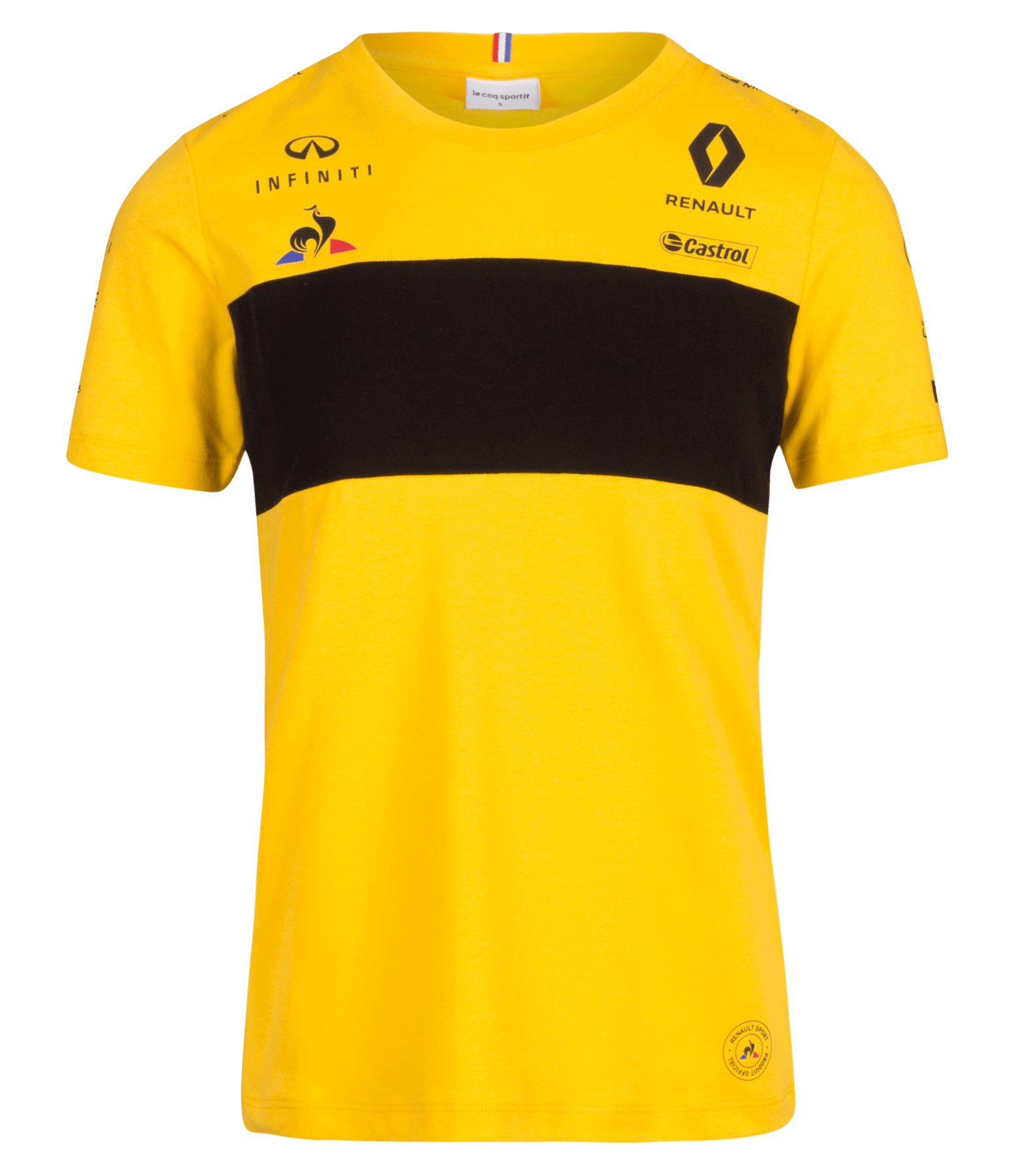 RENAULT SPORT FORMULA ONE™ Team 2018 women's t-shirt - yellow