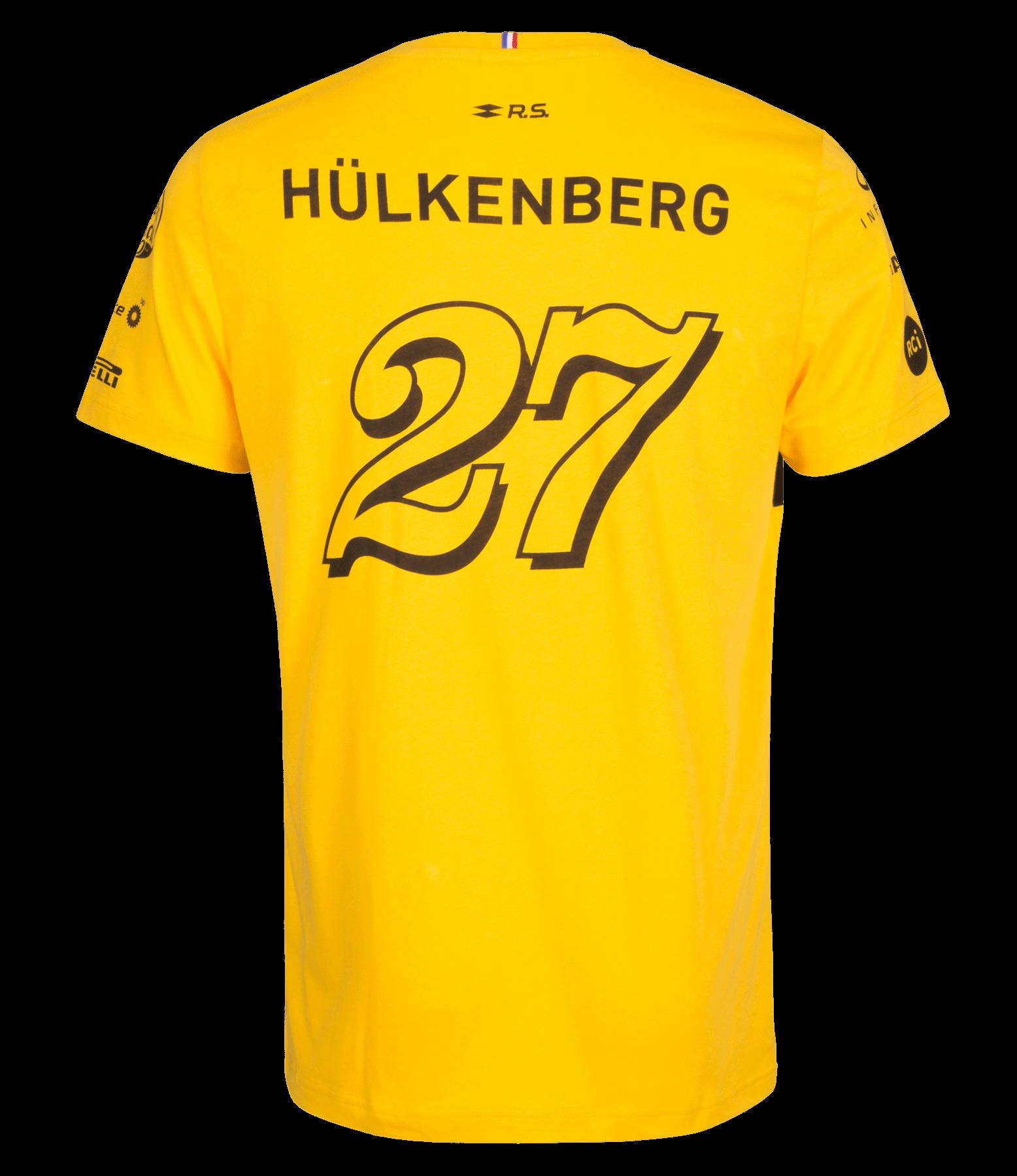 RENAULT SPORT FORMULA ONE™ Team Hülkenberg 2018 men's t-shirt - yellow