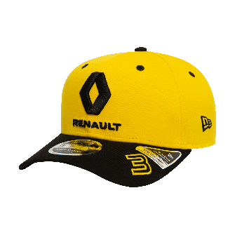 Daniel Ricciardo 2019 official cap - yellow