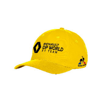 RENAULT DP WORLD F1® TEAM 2020 cap - yellow