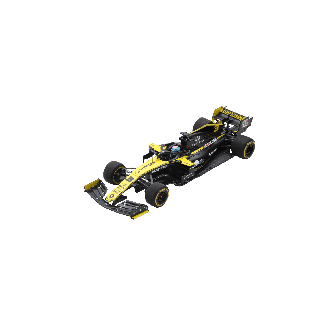 RENAULT F1® Team 2019 R.S.19 #3 Daniel Ricciardo model car 1/18