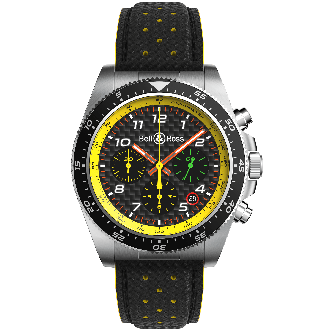 Watch BRV3-94 R.S.19 leather strap