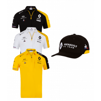 RENAULT F1® TEAM polo pack