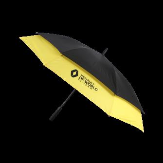RENAULT DP WORLD F1 TEAM Double umbrella - black & yellow