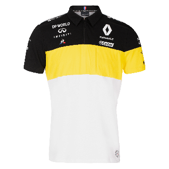 RENAULT DP WORLD F1® TEAM 2020 men's polo shirt - white