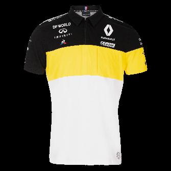 RENAULT DP WORLD F1® TEAM 2020 men's polo shirt - white