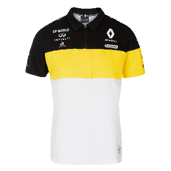 RENAULT DP WORLD F1® TEAM 2020 women's polo shirt - white