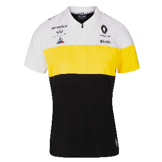 RENAULT DP WORLD F1® TEAM 2020 women's polo shirt - black