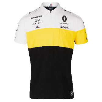 RENAULT DP WORLD F1® TEAM 2020 men's polo shirt - black