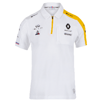 RENAULT F1® TEAM 2019 women's poloshirt - white