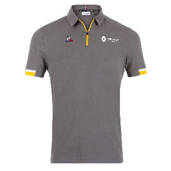 RENAULT F1® TEAM 2019 men's poloshirt - grey