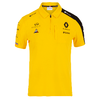 RENAULT F1® TEAM 2019 women's poloshirt - yellow
