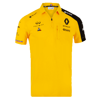 RENAULT F1® TEAM 2019 men's poloshirt - yellow