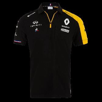 RENAULT F1® TEAM 2019 men's poloshirt - black