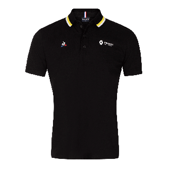 RENAULT F1® TEAM 2020 fan men's polo shirt - Black