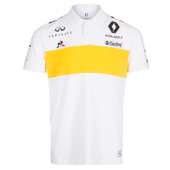 RENAULT SPORT FORMULA ONE™ Team 2018 women's polo shirt - white
