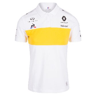 RENAULT SPORT FORMULA ONE™ Team 2018 men's polo shirt - white
