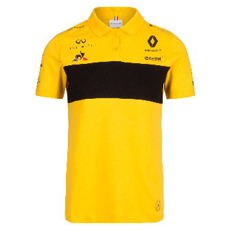 RENAULT FORMULA ONE™ TEAM 2018 women's polo shirt - yellow