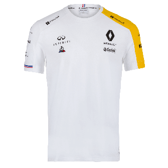 RENAULT F1® TEAM 2019 men's t-shirt - white