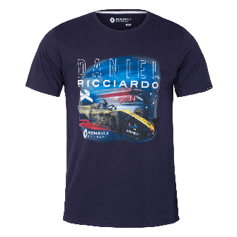 RENAULT F1® TEAM 2019 Daniel Ricciardo Men's T-shirt - Blue