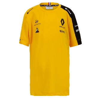 RENAULT F1® TEAM 2019 kid's t-shirt - yellow