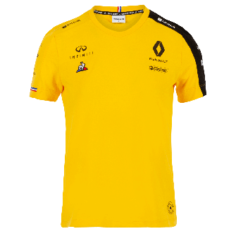 RENAULT F1® TEAM 2019 women's T-Shirt - yellow