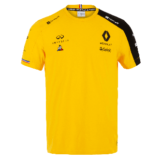 RENAULT F1® TEAM 2019 men's t-shirt - yellow