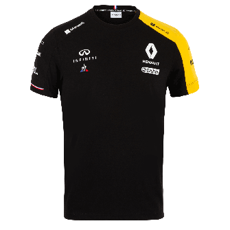 RENAULT F1® TEAM 2019 men's t-shirt - black