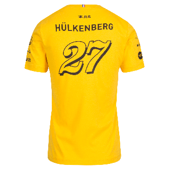 RENAULT SPORT FORMULA ONE™ Team Hülkenberg 2018 women's t-shirt - yellow