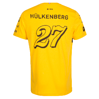 RENAULT SPORT FORMULA ONE™ Team Hülkenberg 2018 men's t-shirt - yellow