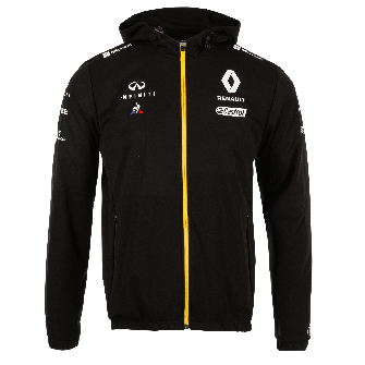 RENAULT F1® TEAM 2019 rain jacket - black