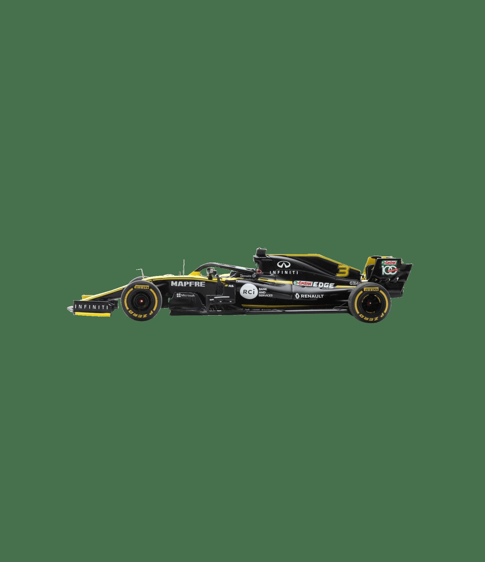 Miniature 1/43 RENAULT F1® Team 2019 R.S.19 #3 Daniel